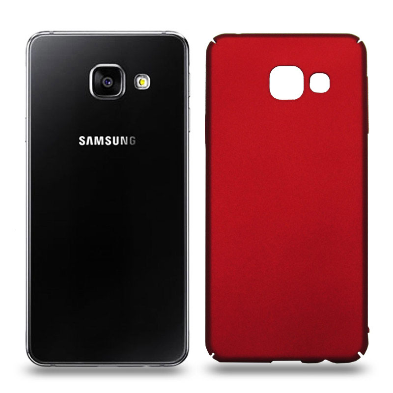 Husa Samsung Galaxy A3 2016 rigida red, Huse Samsung
