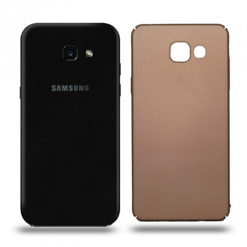 Husa Samsung Galaxy A5 2017 rigida gold, Huse Samsung