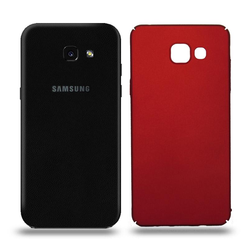 Husa Samsung Galaxy A5 2017 rigida red, Huse Samsung