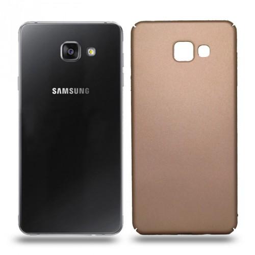 Husa Samsung Galaxy A7 2016 rigida gold, Huse Samsung