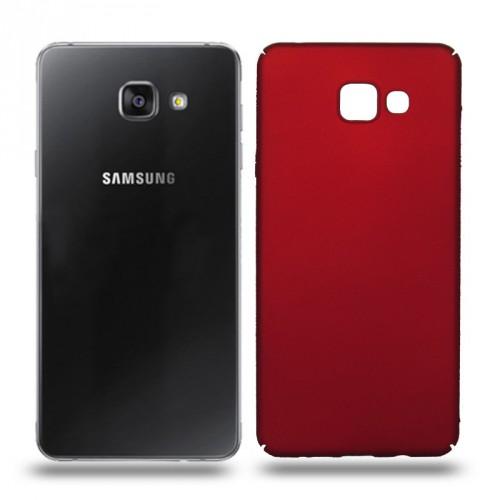 Husa Samsung Galaxy A7 2016 rigida red, Huse Samsung