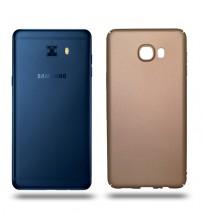 Husa de protectie rigida Ultra SLIM Samsung Galaxy C7, Gold