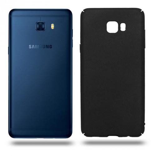 Husa Samsung Galaxy C7 Pro rigida black, Huse Samsung