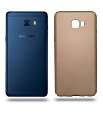Husa de protectie rigida Ultra SLIM Samsung Galaxy C7 Pro, Gold