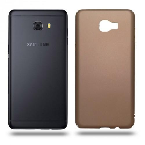 Husa Samsung Galaxy C9 Pro rigida gold, Huse Samsung