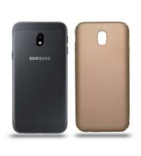 Husa de protectie rigida Ultra SLIM Samsung Galaxy J3 2017, Gold