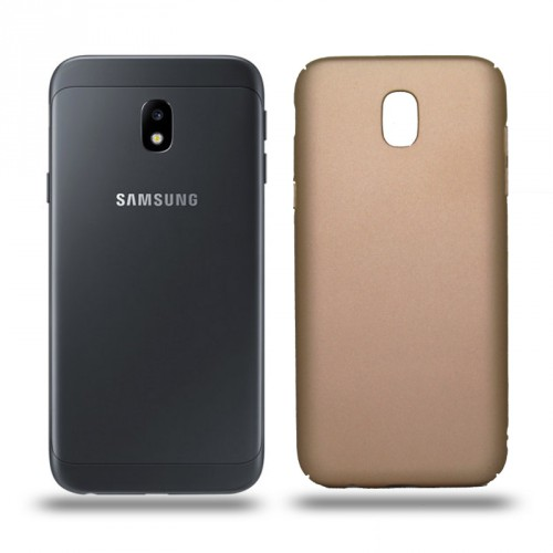 Husa Samsung Galaxy J3 2017 rigida gold, Huse Samsung