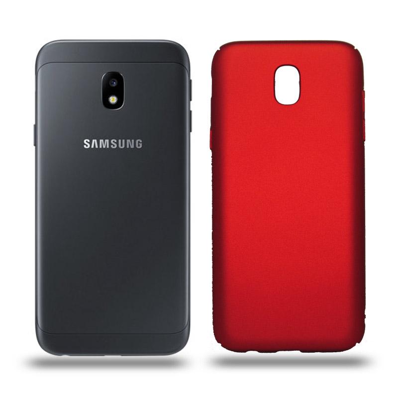 Husa Samsung Galaxy J3 2017 rigida red, Huse Samsung