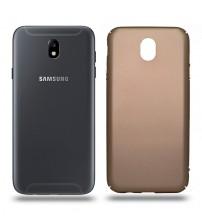 Husa de protectie rigida Ultra SLIM Samsung Galaxy J7 2017, Gold