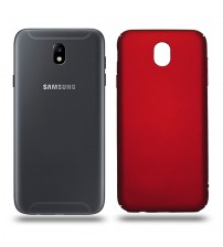 Husa de protectie rigida Ultra SLIM Samsung Galaxy J7 2017, Red