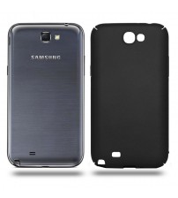 Husa de protectie rigida Ultra SLIM Samsung Galaxy Note 2, Black