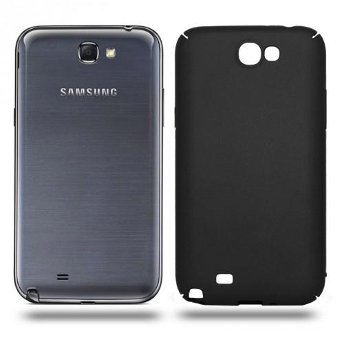 Husa Samsung Galaxy Note 2 rigida black, Huse Samsung
