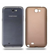 Husa de protectie rigida Ultra SLIM Samsung Galaxy Note 2, Gold