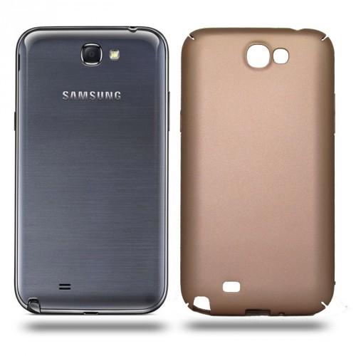 Husa Samsung Galaxy Note 2 rigida gold, Huse Samsung
