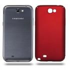 Husa de protectie rigida Ultra SLIM Samsung Galaxy Note 2, Red