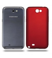 Husa de protectie rigida Ultra SLIM Samsung Galaxy Note 2, Red