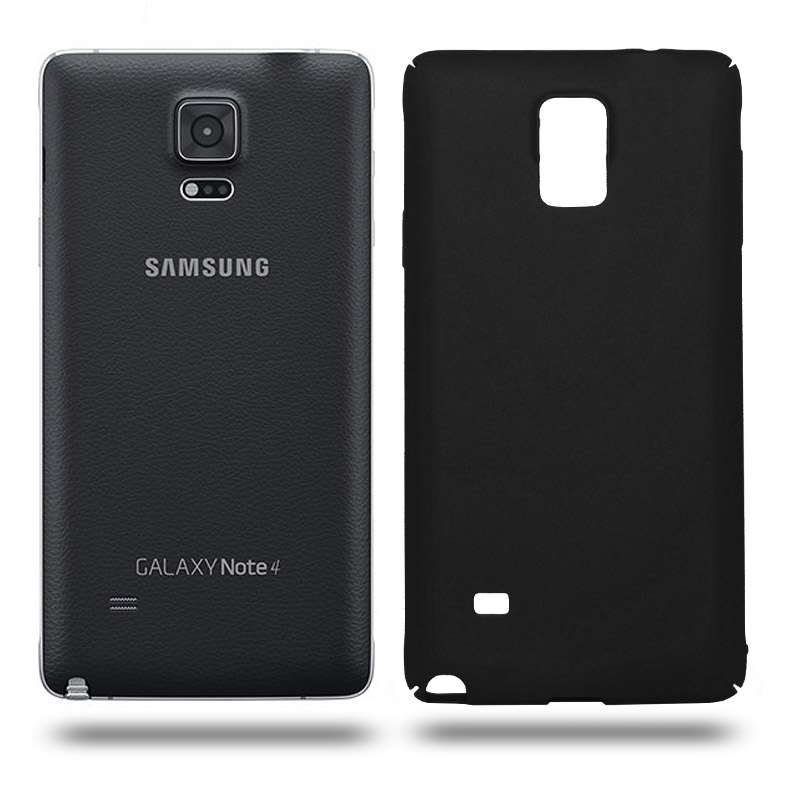 Husa Samsung Galaxy Note 4 rigida black, Huse Samsung