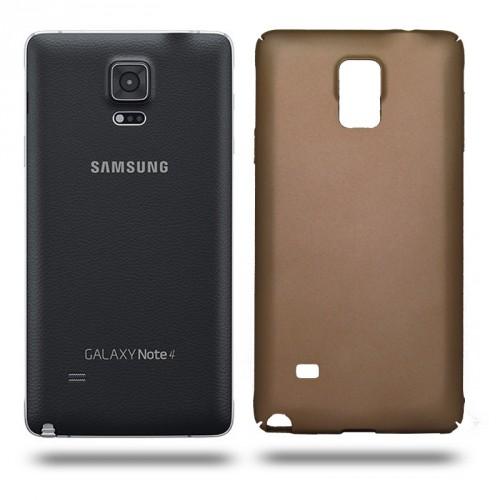 Husa Samsung Galaxy Note 4 rigida gold, Huse Samsung