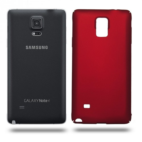 Husa Samsung Galaxy Note 4 rigida red, Huse Samsung