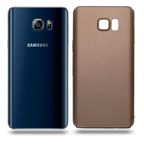 Husa Samsung Galaxy Note 5 rigida gold, Huse Samsung
