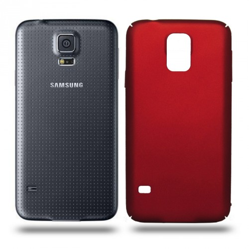 Husa Samsung Galaxy S5 / S5 Neo rigida red, Huse Samsung