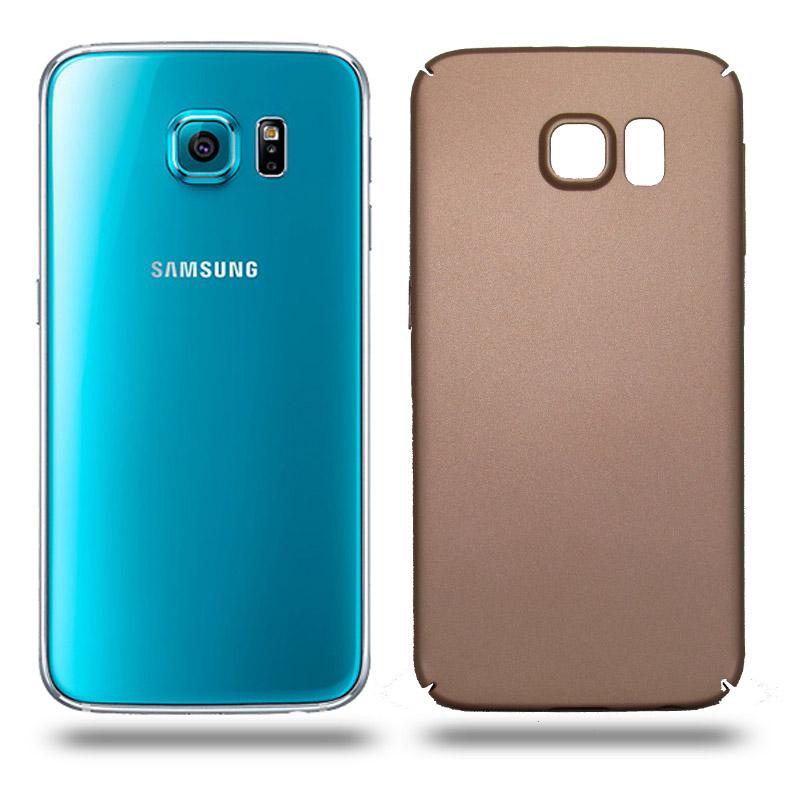 Husa Samsung Galaxy S6 rigida gold, Huse Samsung