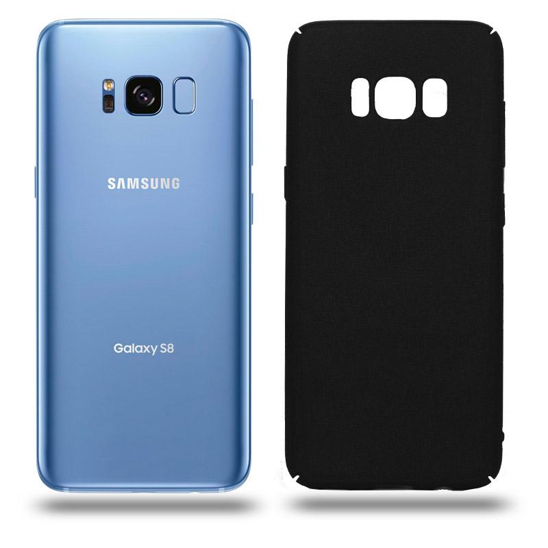 Husa Samsung Galaxy S8 rigida black, Huse Samsung