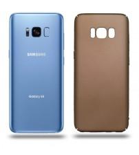 Husa de protectie rigida Ultra SLIM Samsung Galaxy S8, Gold