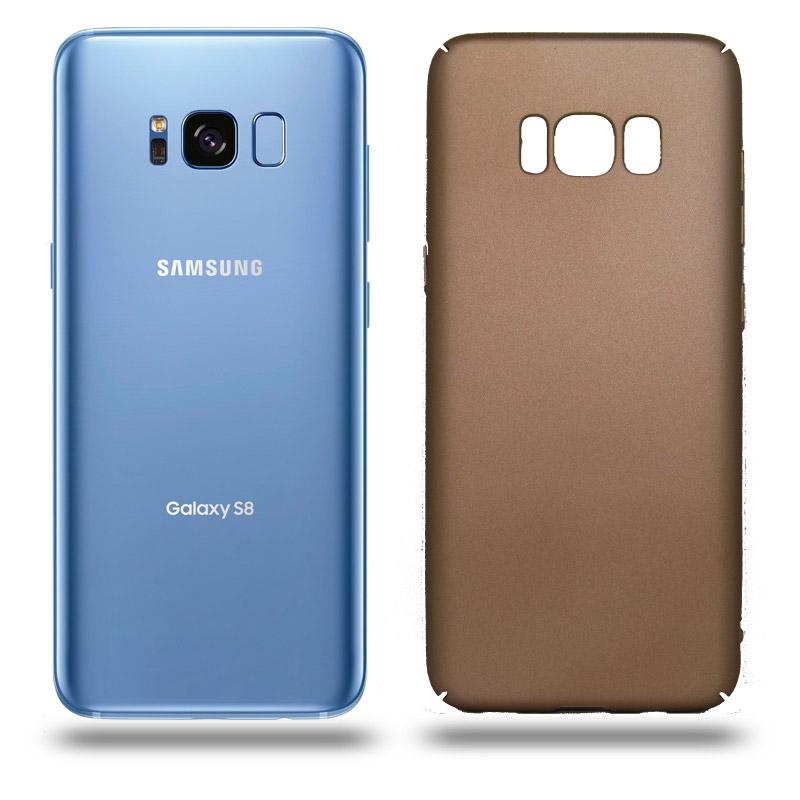 Husa Samsung Galaxy S8 rigida gold, Huse Samsung