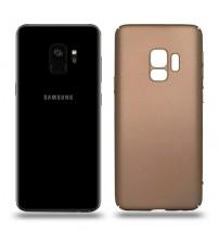 Husa de protectie rigida Ultra SLIM Samsung Galaxy S9, Gold