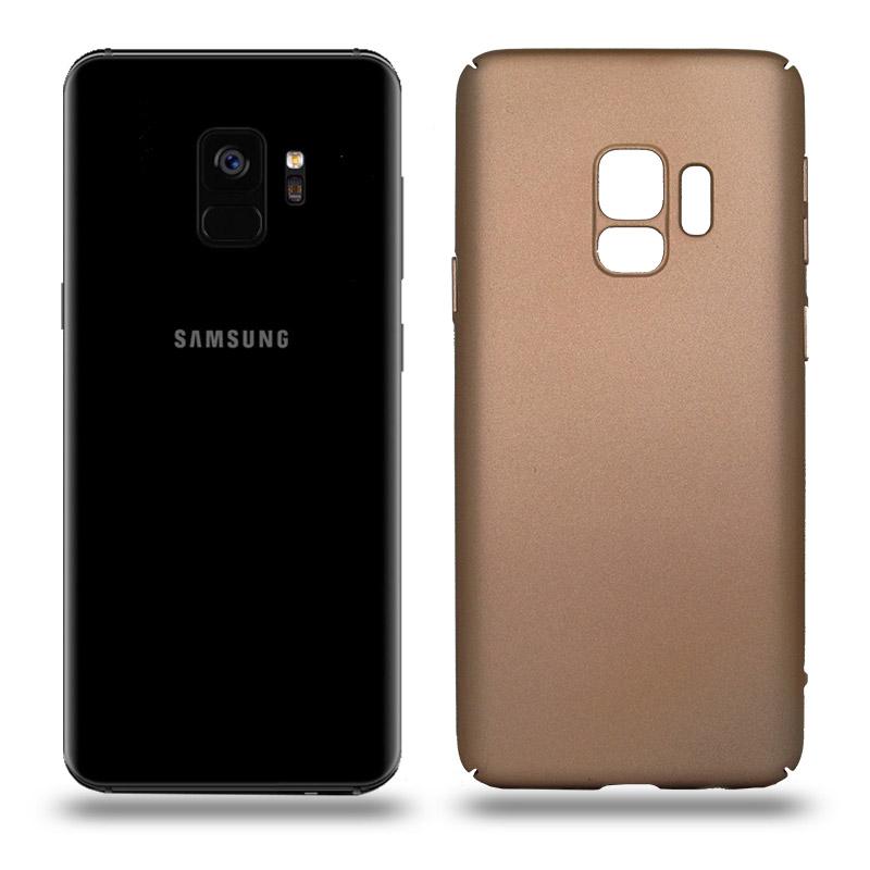 Husa Samsung Galaxy S9 rigida gold, Huse Samsung