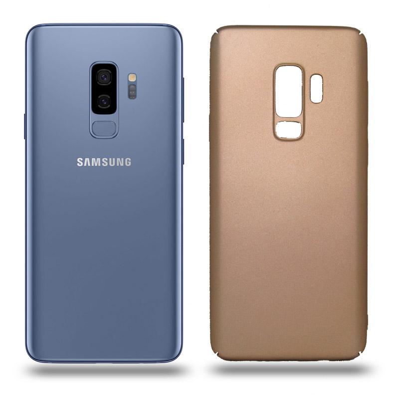 Husa Samsung Galaxy S9 Plus rigida gold, Huse Samsung