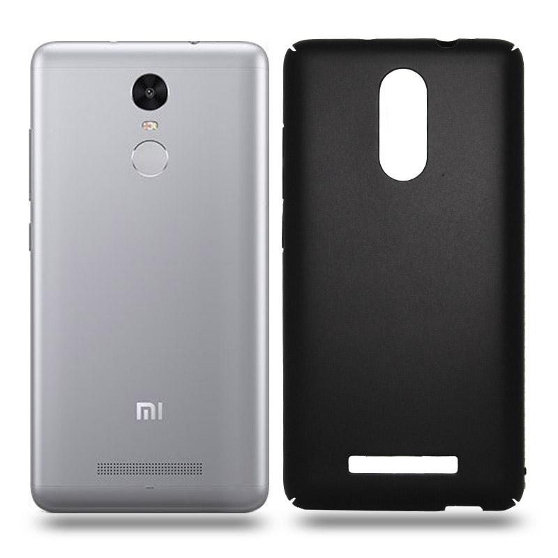 Husa Xiaomi Note 3 rigida black, Huse Xiaomi - TemperedGlass.ro