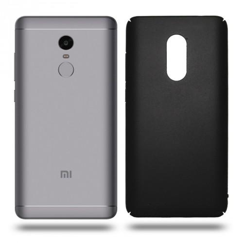 Husa Xiaomi Note 4 rigida black, Huse Xiaomi - TemperedGlass.ro