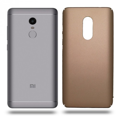 Husa Xiaomi Note 4 rigida gold, Huse Xiaomi - TemperedGlass.ro