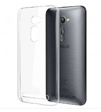 Husa de protectie Slim TPU pentru Asus Zenfone 2 5.0 ZE500CL, Transparenta [Promo DoubleUP]