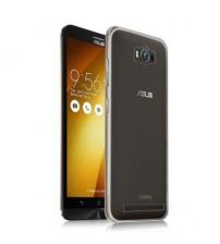 Husa de protectie Slim TPU pentru Asus Zenfone Max, Transparenta [Promo DoubleUP]