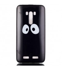 Husa de protectie Slim TPU pentru  Asus Zenfone Selfie ZD551KL, Eyes