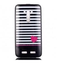 Husa de protectie Slim TPU pentru  Asus Zenfone Selfie ZD551KL, Heart