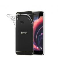 Husa de protectie Slim TPU pentru HTC Desire 10 Pro, Transparenta