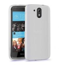 Husa de protectie Slim TPU pentru HTC Desire 526 / 526+, Transparenta [Promo DoubleUP]