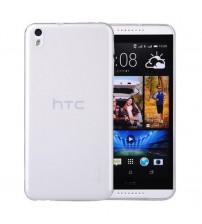 Husa de protectie Slim TPU pentru HTC Desire 816, Transparenta [Promo DoubleUP]
