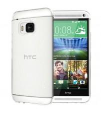 Husa de protectie Slim TPU pentru HTC One M9, Transparenta [Promo DoubleUP]
