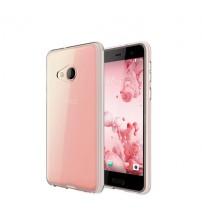Husa de protectie Slim TPU pentru HTC U Play, Transparenta