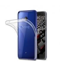 Husa de protectie Slim TPU pentru HTC U11, Transparenta