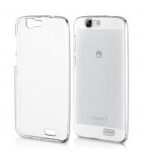 Husa de protectie Slim TPU pentru Huawei Ascend G7, Transparenta