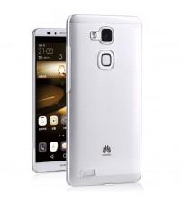 Husa de protectie Slim TPU pentru Huawei Ascend Mate 7, Transparenta [Promo DoubleUP]
