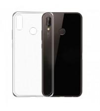 Husa de protectie Slim TPU pentru Huawei P20 Lite , Transparenta