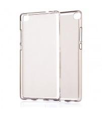 Husa de protectie Slim TPU pentru Huawei P8, Transparenta [Promo DoubleUP]