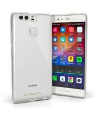 Husa de protectie Slim TPU pentru Huawei P9 Plus, Transparenta [Promo DoubleUP]